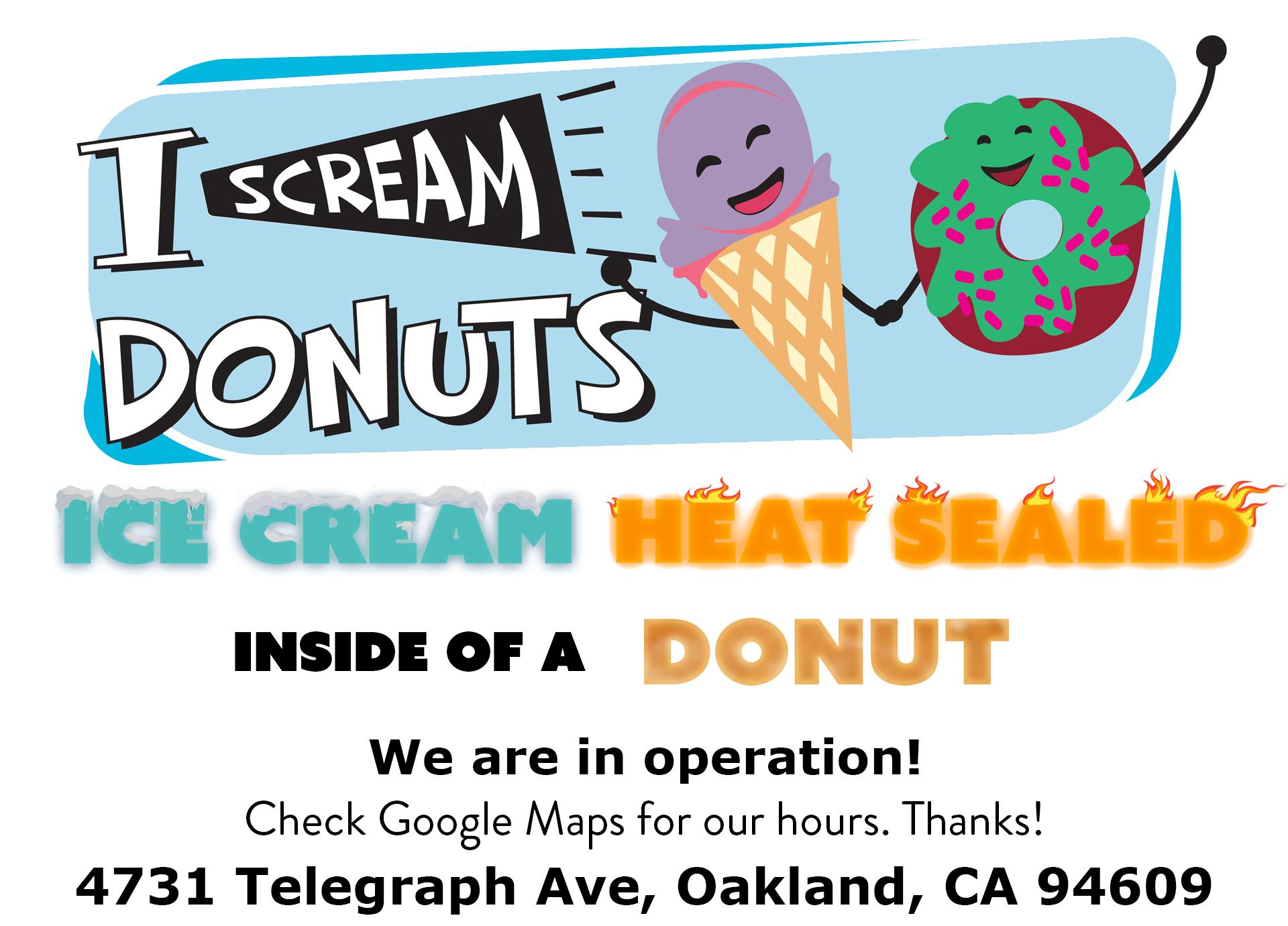 I Scream Donuts